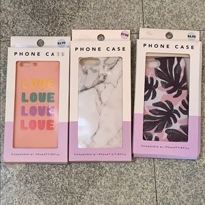 Phone cases set of 3
